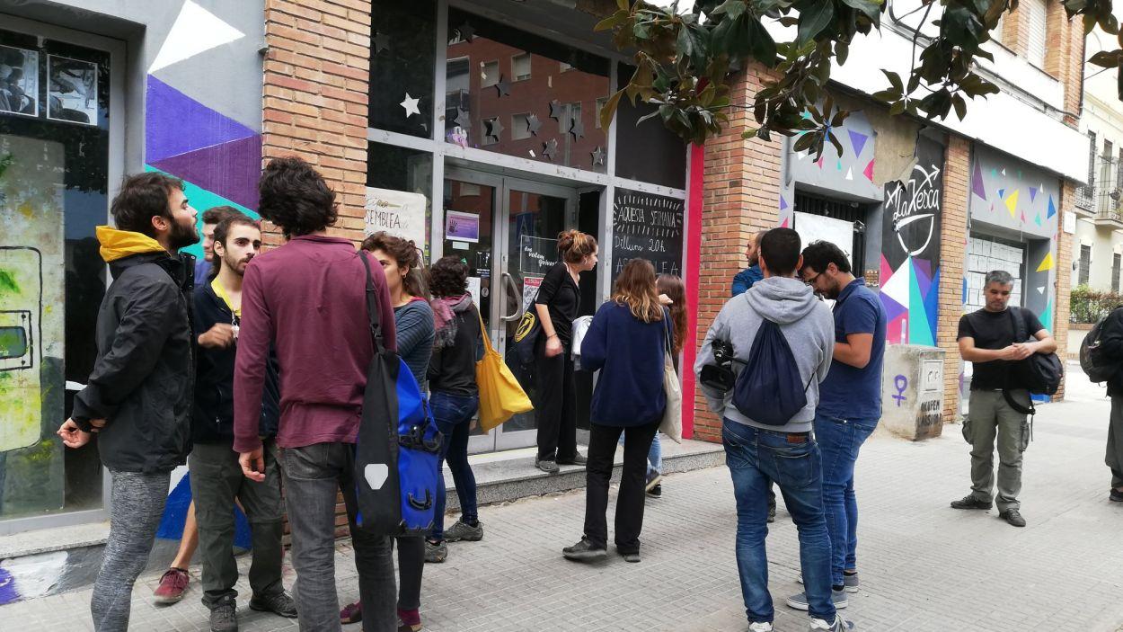 La Xesca ocupa un local al número 66 de l'avinguda Cerdanyola / Foto: Cugat Mèdia