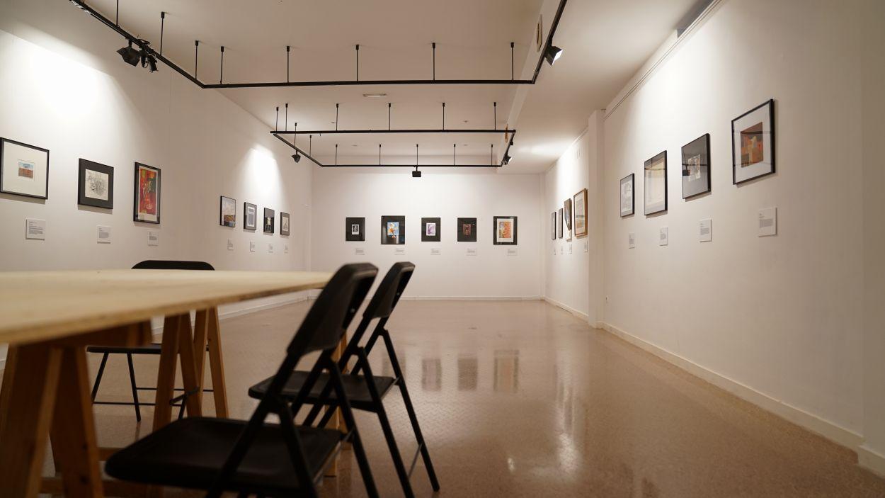 L'exposició es pot veure a la Casa de Cultura / Foto: Guillem Babitsch (Cugat Mèdia)