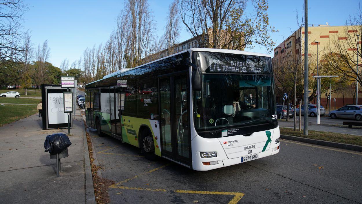 Junts per Sant Cugat demanava la creació d'una línia de bus nocturn / Foto: Guillem Babitsch (Cugat Mèdia)