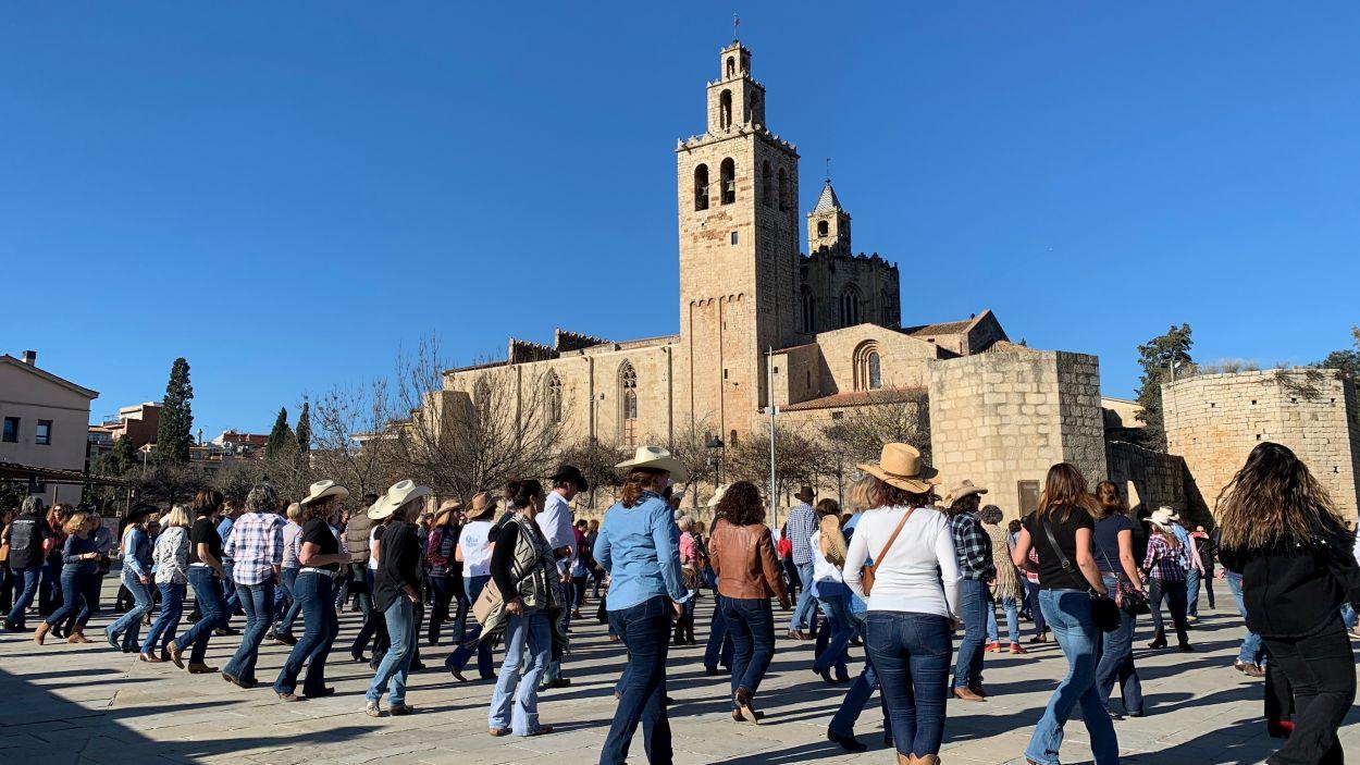 Ballada de country per a la Marató de TV3 / Foto: Cugat Mèdia