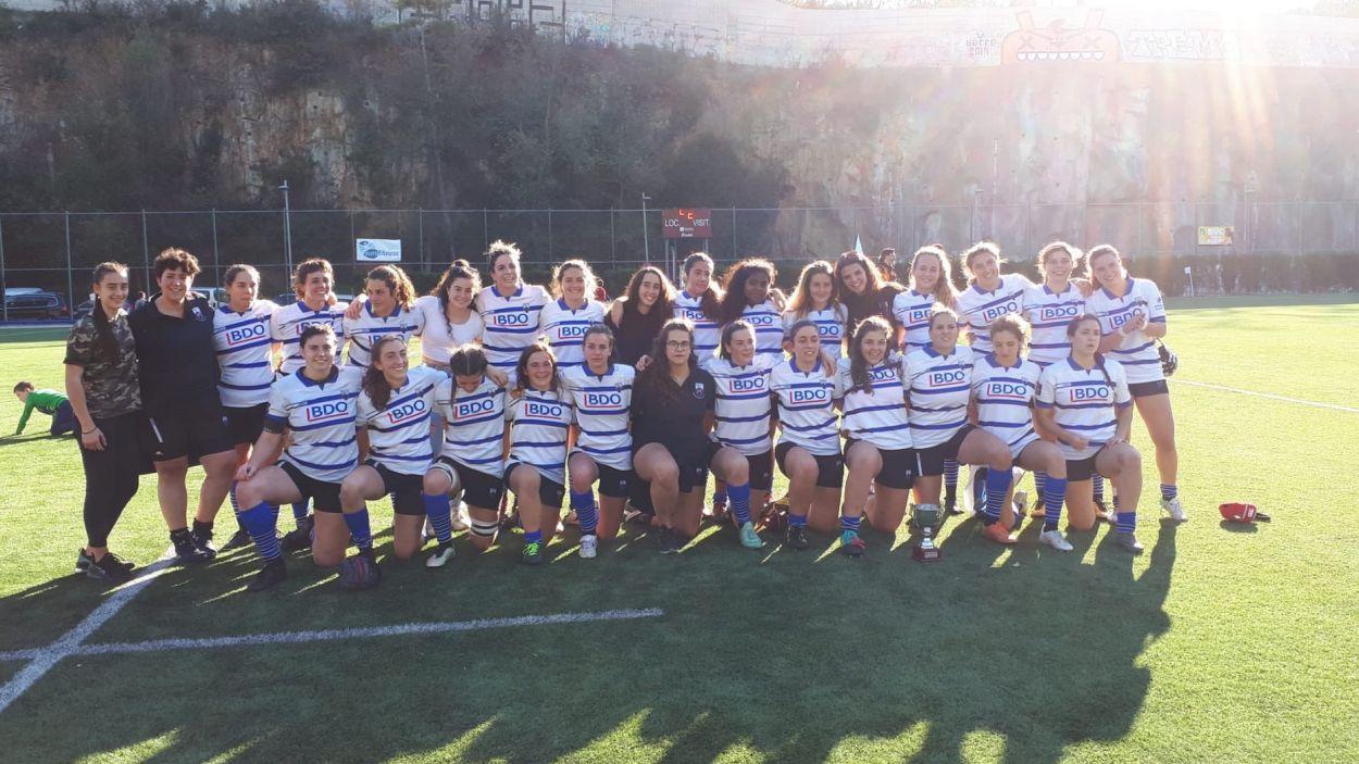 Plantilla del Rugby Sant Cugat / Font. Rugby Sant Cugat