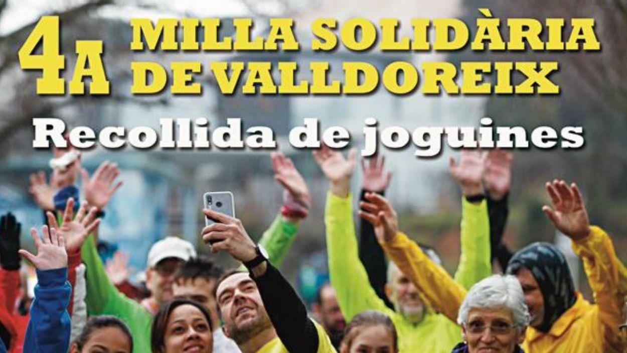 Imatge del cartell de la cursa / Font: EMD Valldoreix