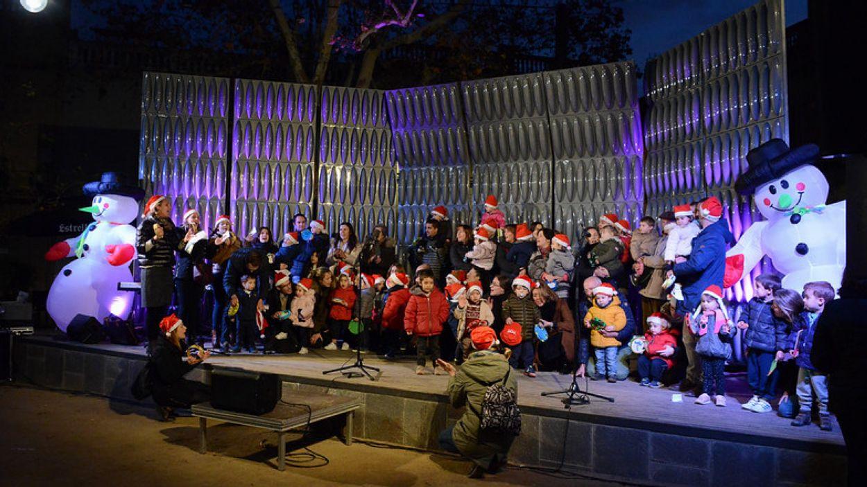 Imatge d'arxiu d'una cantada de Nadales / Foto: Localpres