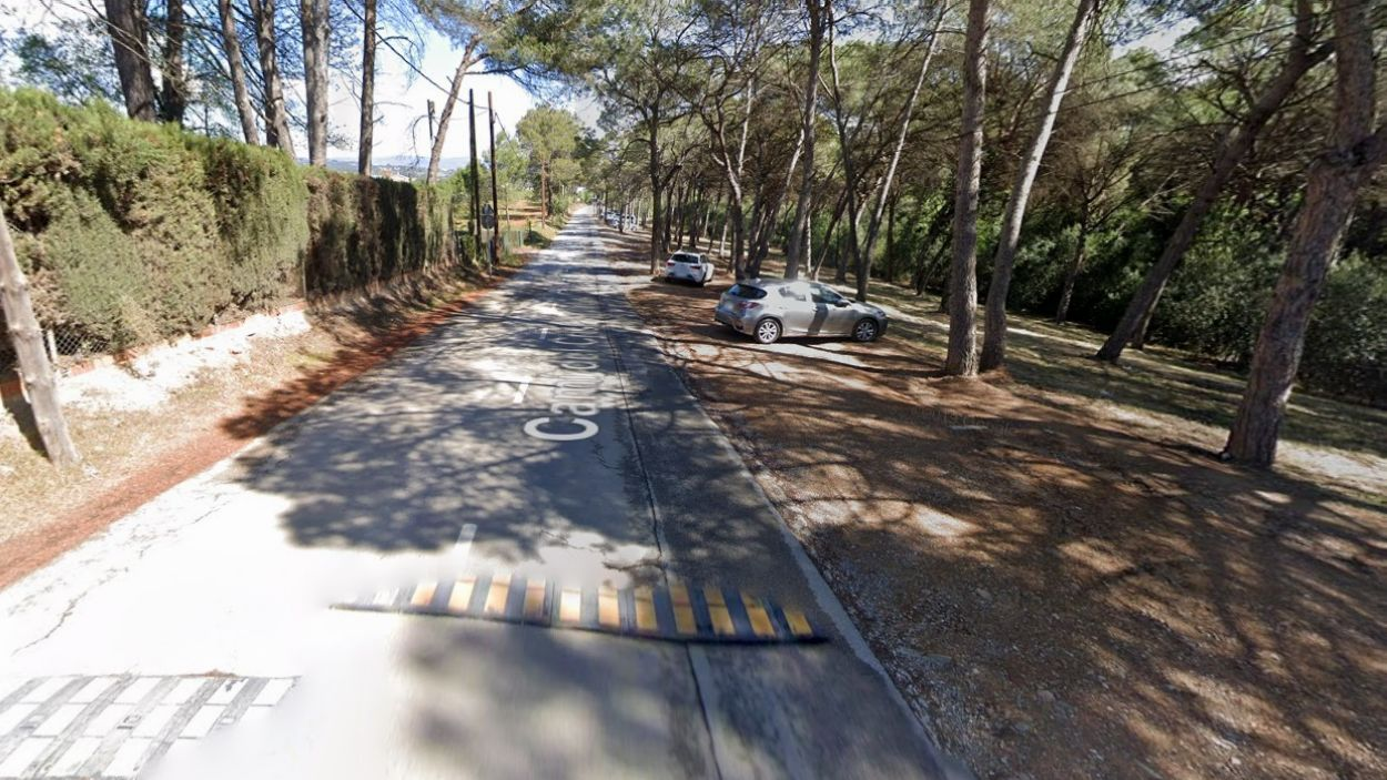 Imatge del Camí del Crist Treballador / Foto: Google Maps