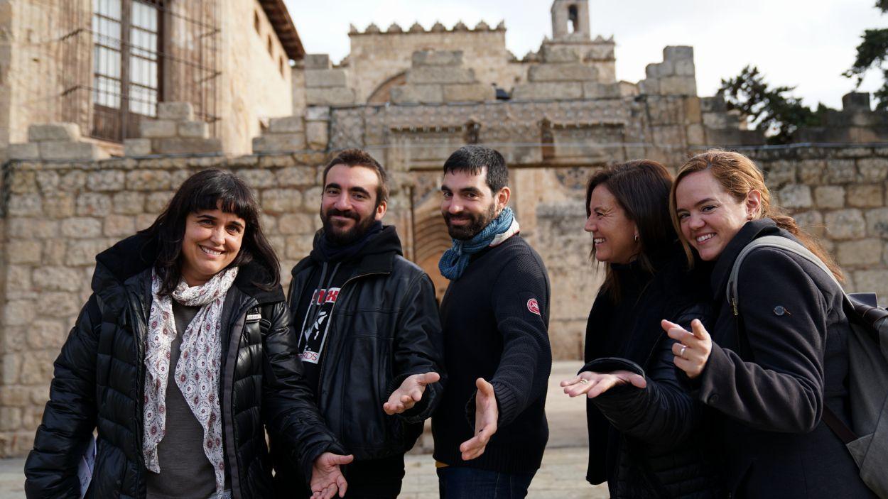Neus Albiac, Ricard Valls, Pere Roc, Maria Farriol i Helena Minuesa / Foto: Guillem Babitsch (Cugat Mèdia)