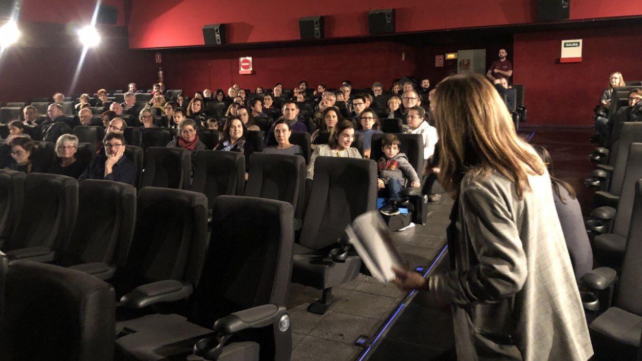 Els col·laborados, als Cinemes Sant Cugat / Foto: Cugat Mèdia