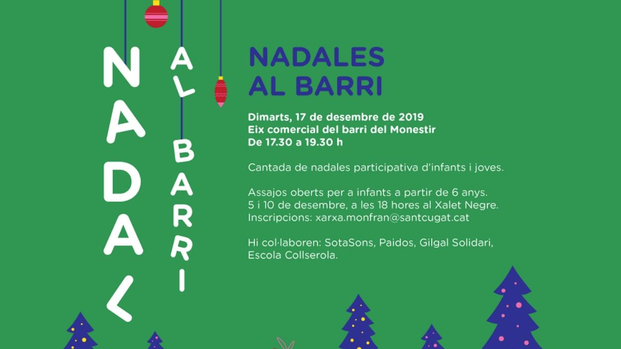 Nadal: 'Nadales al barri'