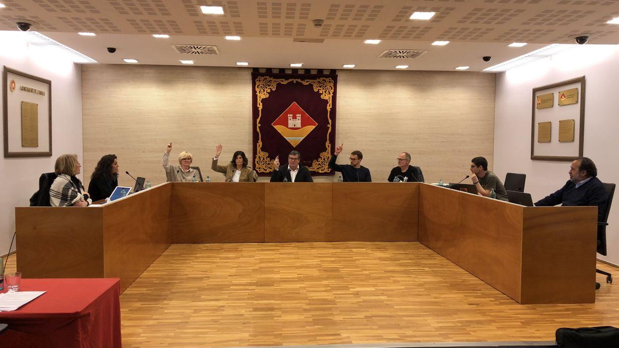 Els vocals tornen aquest dijous a la sala de plens de la Casa de la Vila de Valldoreix / Foto: EMD