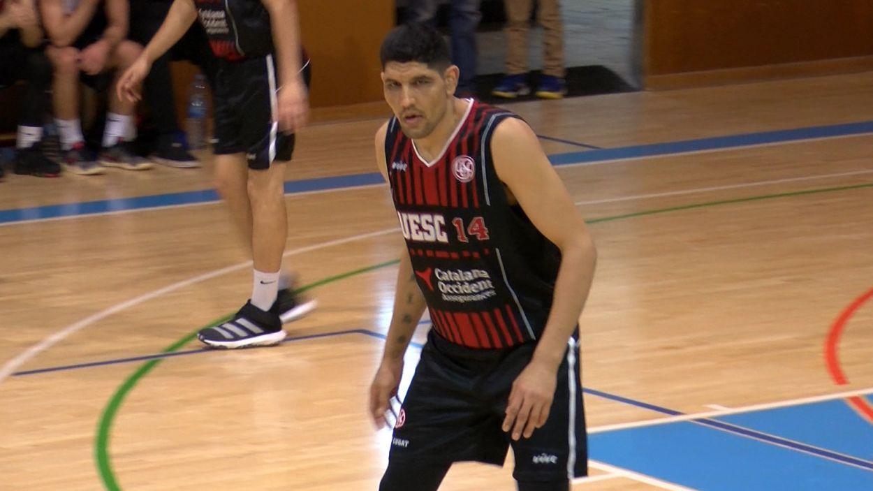 Luis González durant un partit d'aquesta temporada / Foto: Cugat Mèdia