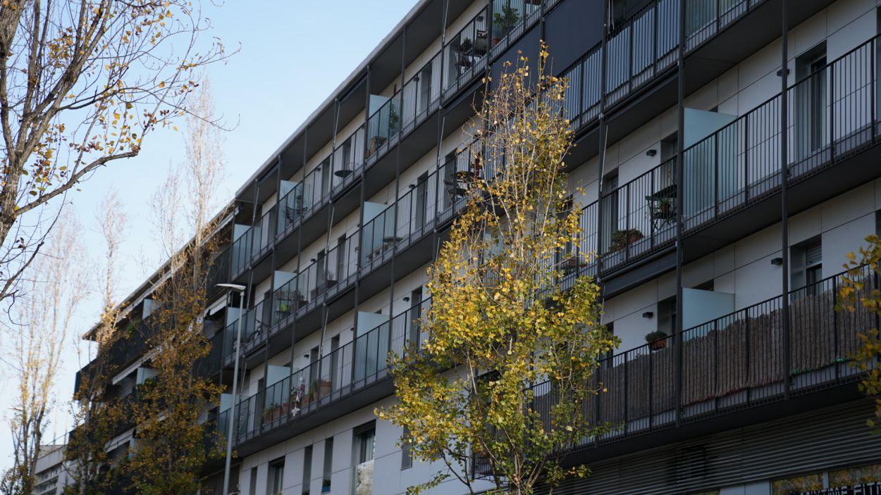 Una de les promocions d'habitatge de Promusa / Foto: Guillem Babitsch (Cugat Mèdia)