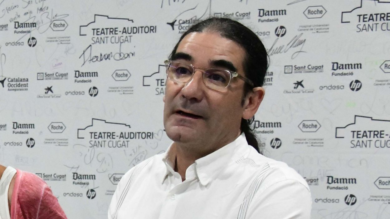 El director del Teatre-Auditori, Pep Tugues / Foto: Localpres