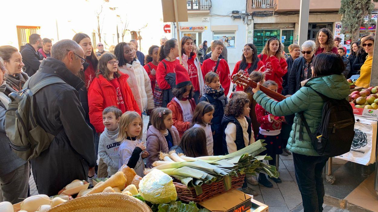 Nadales al carrer amb l'Aula de So / Foto: Cugat Mèdia