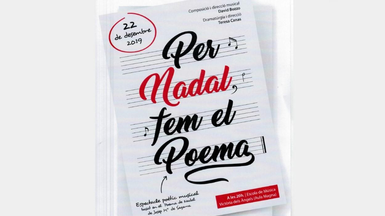 Nadal: 'Per Nadal, fem el Poema'
