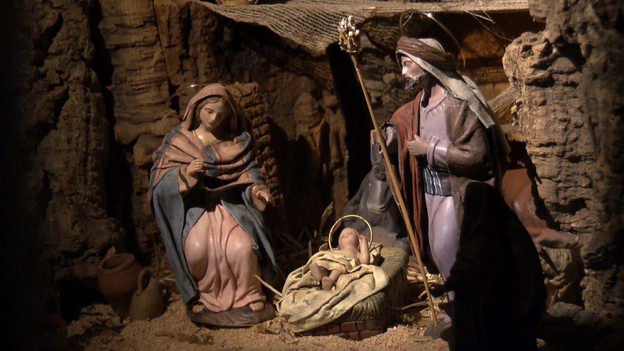 La litúrgia nadalenca, representada als pessebres / Foto: Cugat Mèdia