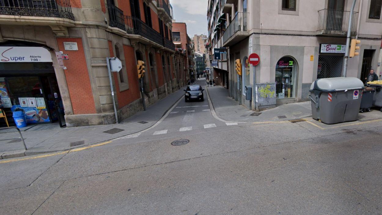 La detenció ha tingut lloc a la carretera de Vic, de Manresa / Foto: Google Maps