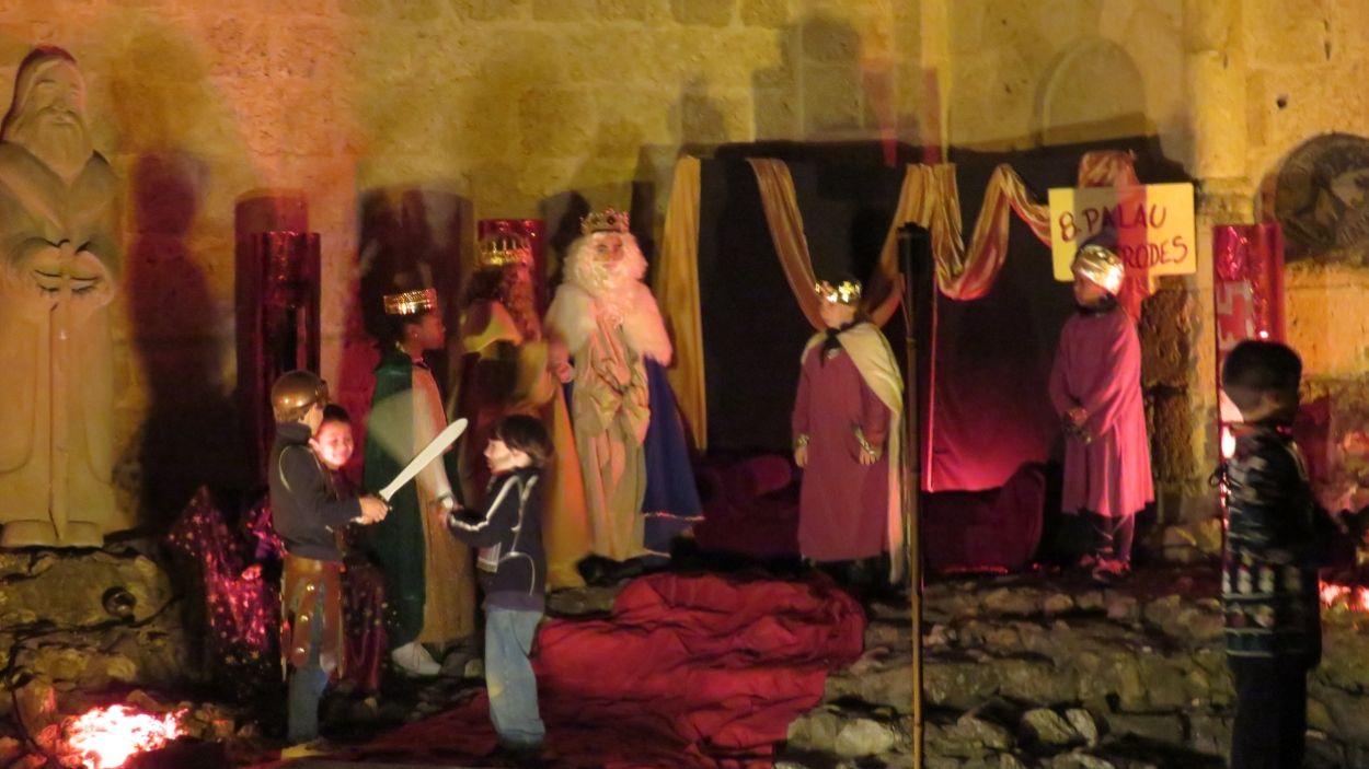 Els Reis Mags de l'Orient al palau d'Herodes / Foto: Cugat Mèdia