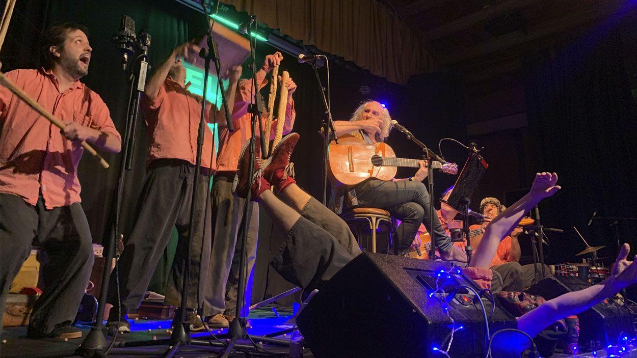 Pau Riba i De Mortimers en concert / Foto: Lluís Llebot