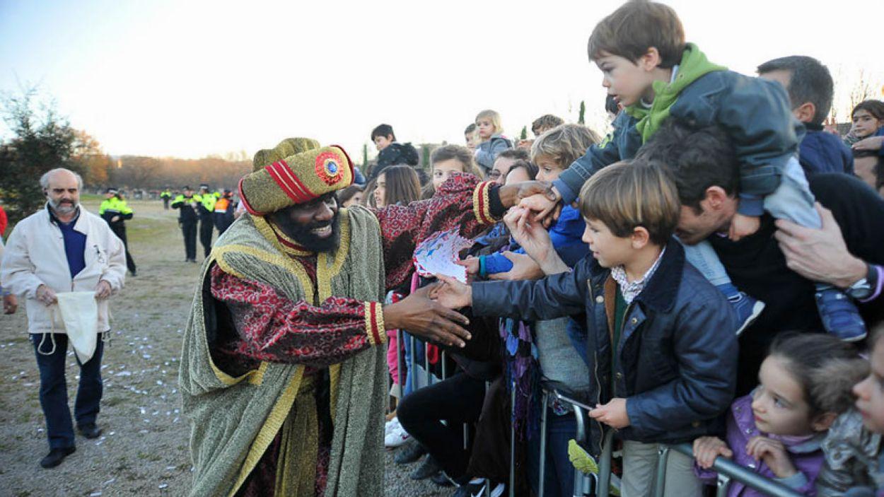 Els Reis d'Orient visiten tots els barris de Sant Cugat / Foto: Localpres