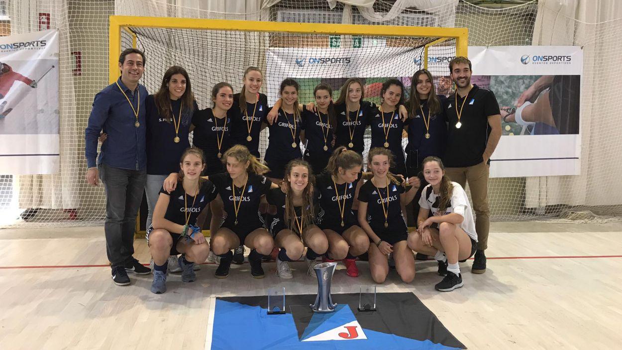 El cadet femení, campió estatal / Font: Junior FC