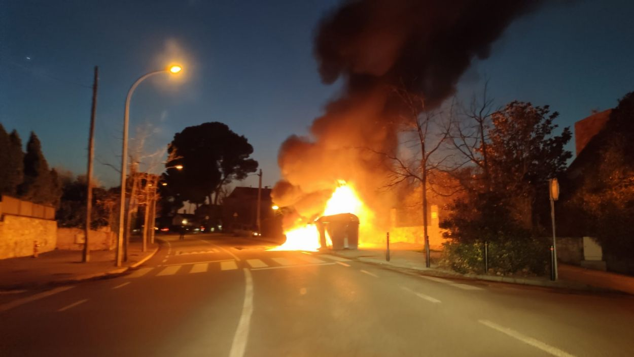 El contenidor cremant / Foto: Cugat Mèdia