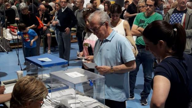 [FOTOGALERIA]: Les instantànies de les eleccions municipals