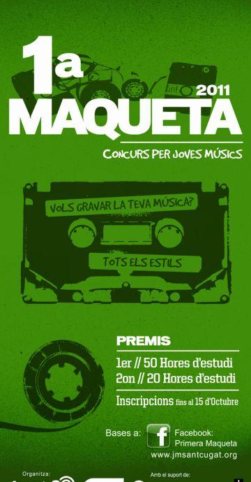 El termini d'inscripcions al concurs '1a Maqueta' s'amplia fins dissabte