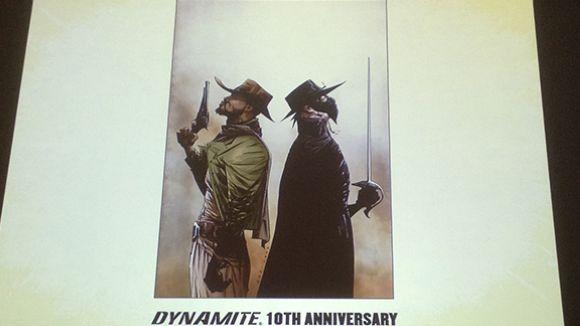 Esteve Polls i Quentin Tarantino, junts en la creació del còmic 'Django/Zorro'