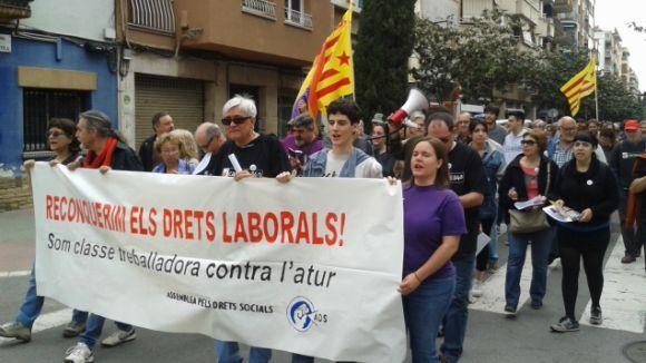 La lluita per reconquerir els drets laborals centra la manifestació de l'1 de Maig a Sant Cugat