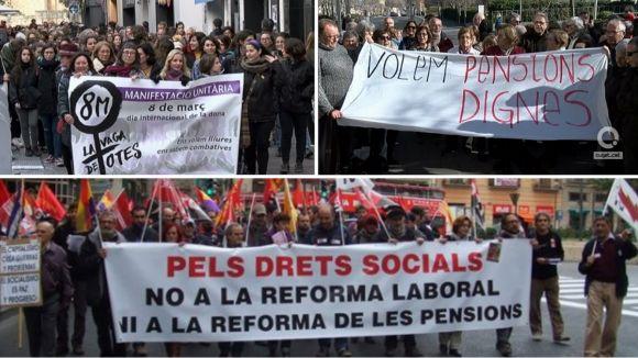 CCOO i UGT convoquen tots els treballadors a Barcelona per celebrar el primer de maig