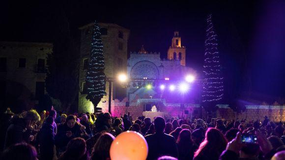 La plaça d'Octavià va acollir una de les tres festes públiques que hi havia a Sant Cugat / Foto: Marc Quevy