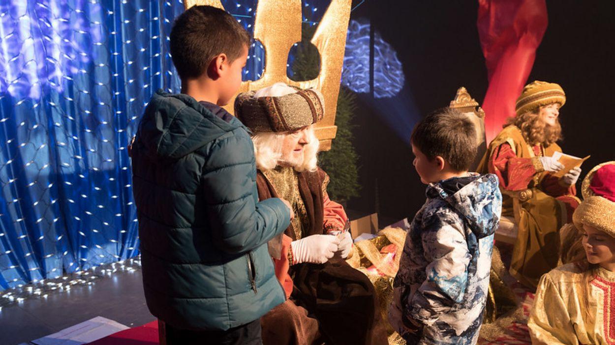 Els Patges Reials visiten Sant Cugat / Foto: Localpres
