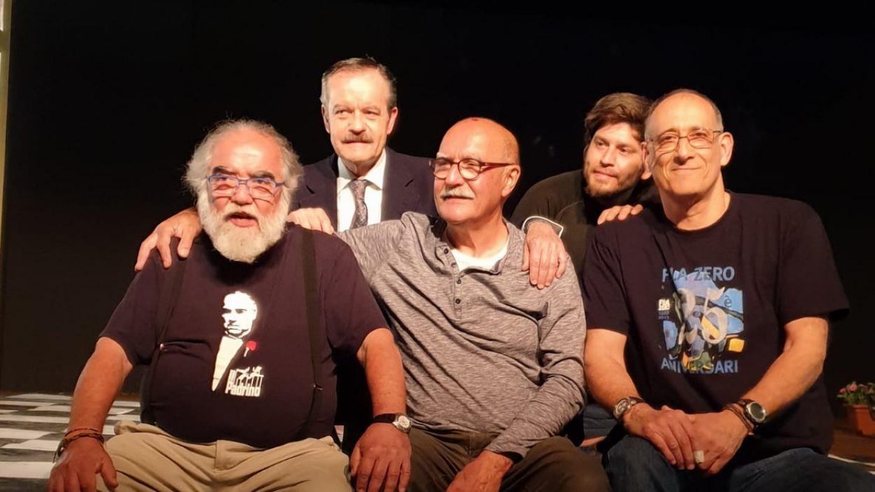 A la segona fila, Pablo Olivera és el segon per la dreta / Font: Ferran de Juan