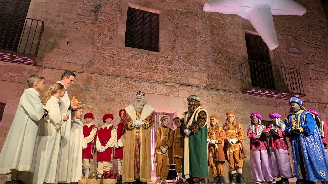 Melcior, Gaspar i Baltasar ja són a Sant Cugat / Foto: Cugat Mèdia