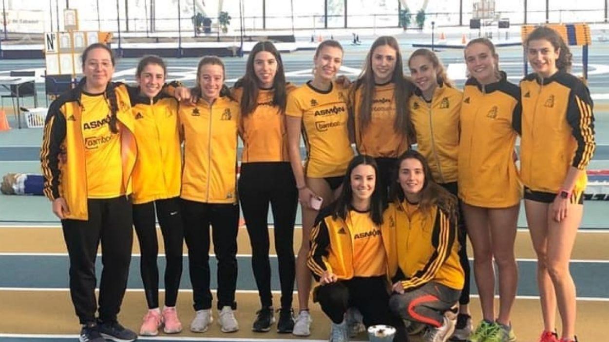 L'equip femeneí del Club Muntanyenc Sant Cugat / Font: Club Muntanyenc Sant Cugat