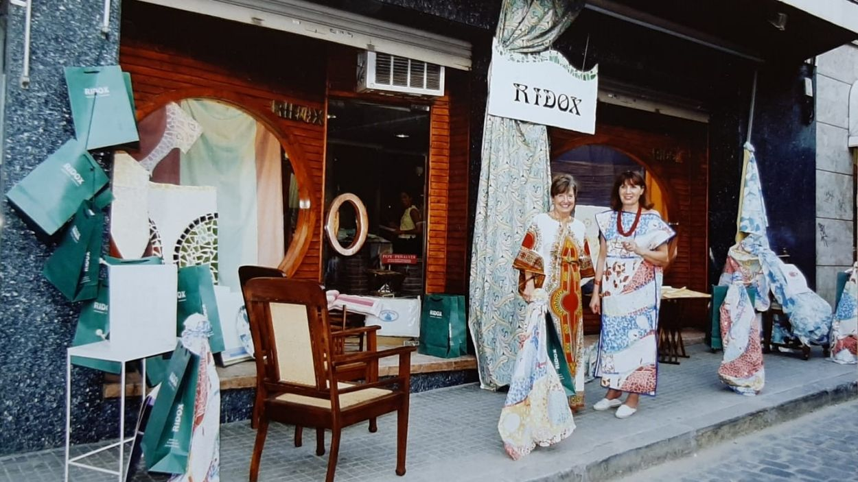 Una imatge històrica de Ridox / Foto: Ridox