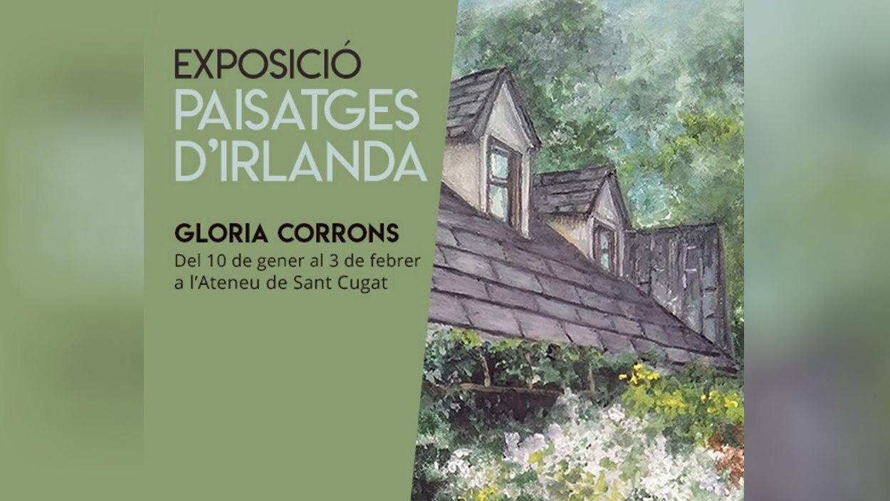 Inauguració de l'exposició 'Paisatges d'Irlanda' de Gloria Corrons i concert de piano