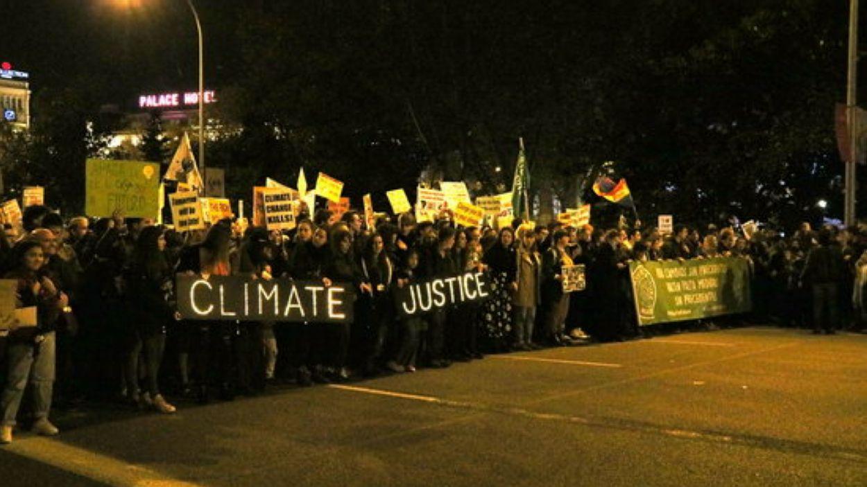 L'emergència climàtica arriba al DIEC / Foto: ACN