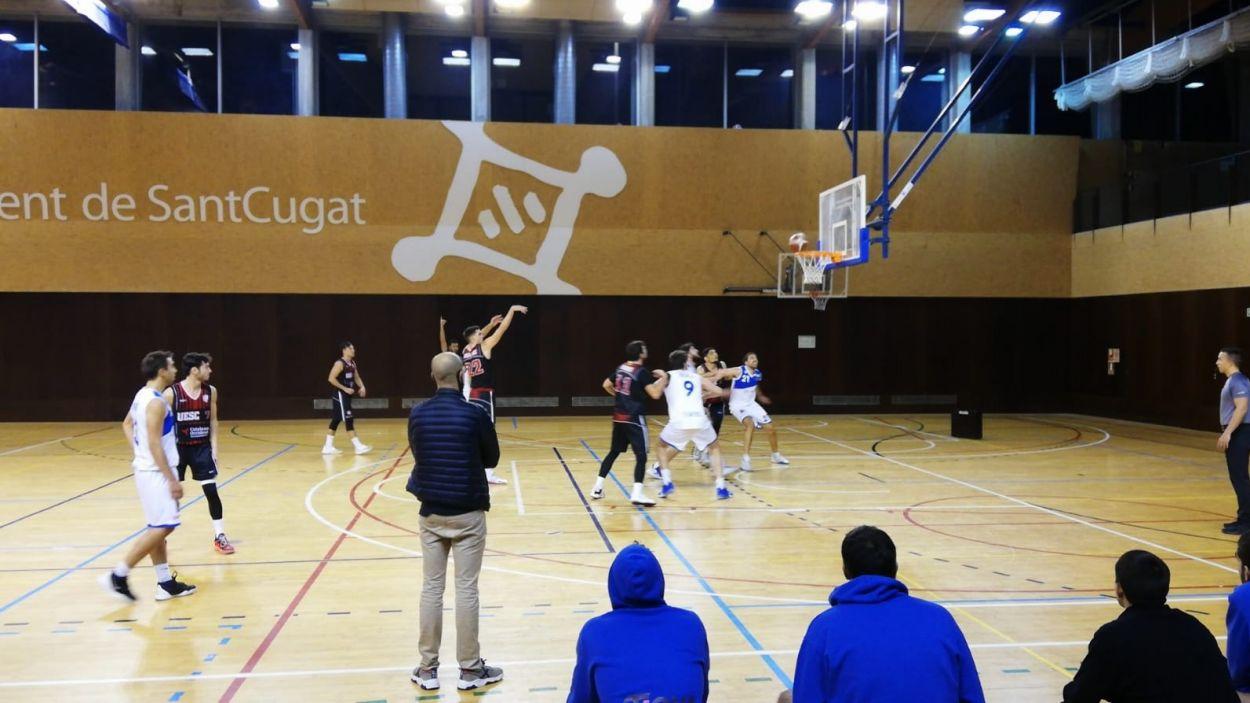 Els santcugatencs cauen davant el líder de la competició. / Font: Cugat Mèdia
