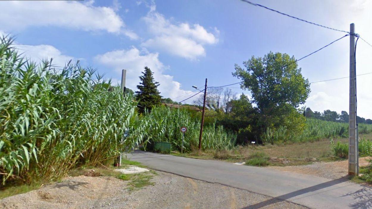 L'itinerari recorrerà el Torrent del Llobet / Foto: Google Maps