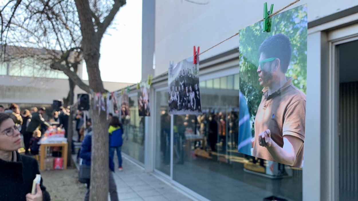 Acte d'homenatge a Pablo Olivera / Foto: Cugat Mèdia