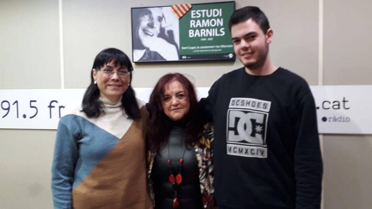 Charo González, a l'esquerra / Foto: Cugat Mèdia