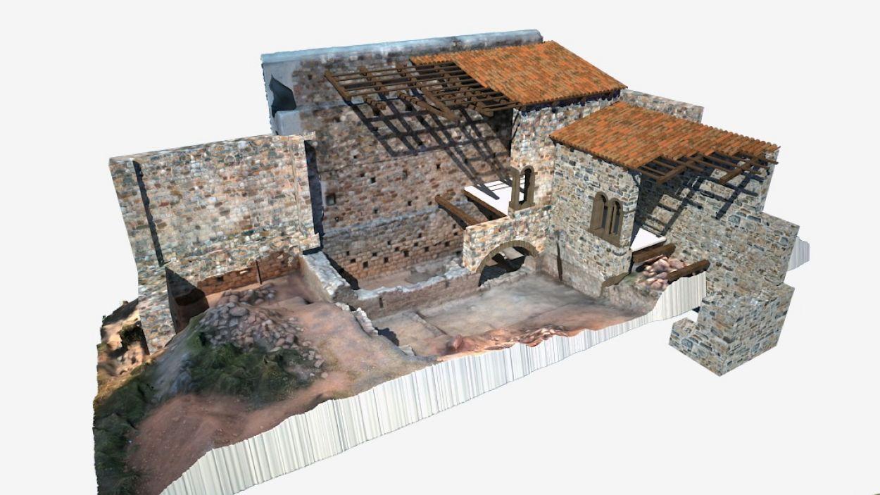 El Castell de Canals, en tres dimensions