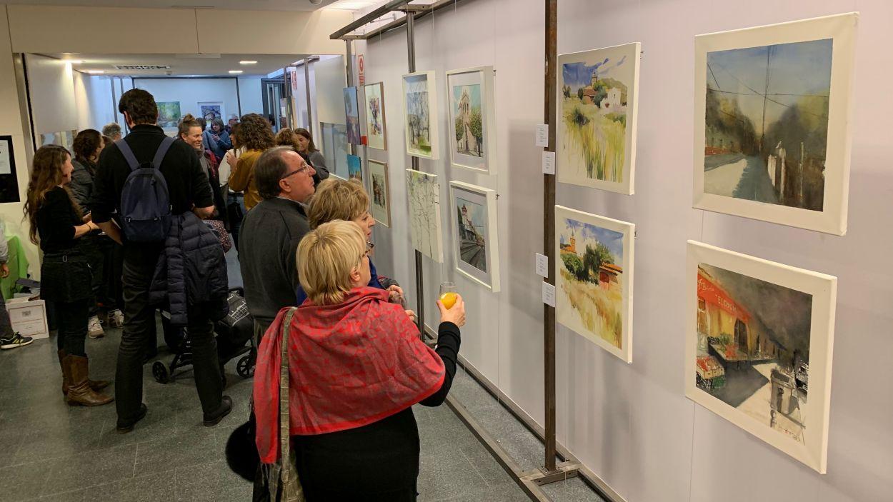 La representació de Valldoreix centra la nova exposició inaugurada a la vila