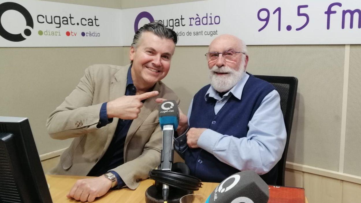 Ramon Gener i Eduard Jener / Foto: Cugat Mèdia