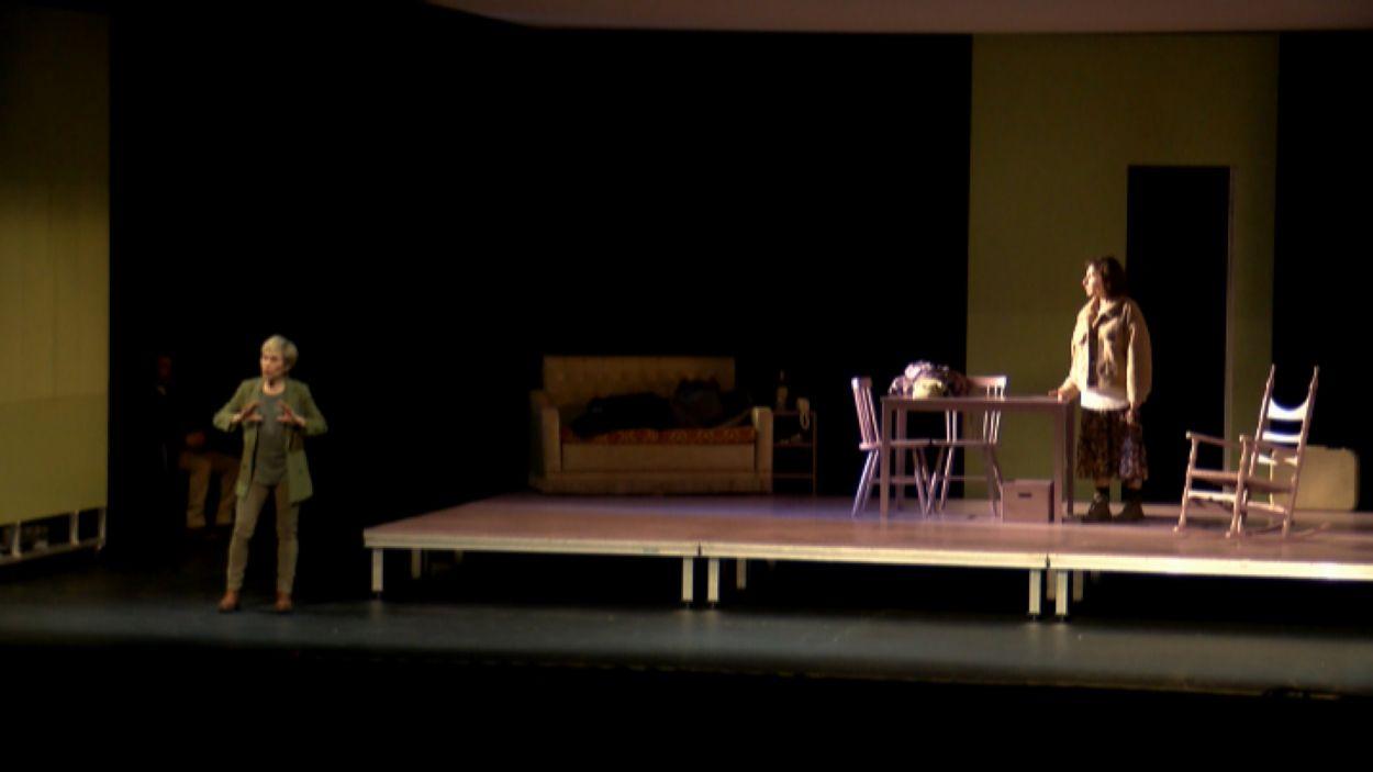 'Cançó per tornar a casa' al Teatre-Auditori / Foto: Cugat Mèdia