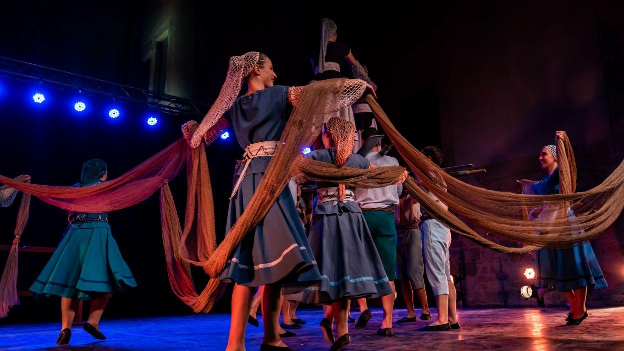 Una imatge de l'espectacle de Festa Major del 2019, 'Transdansar' / Foto: Gisela Esteve