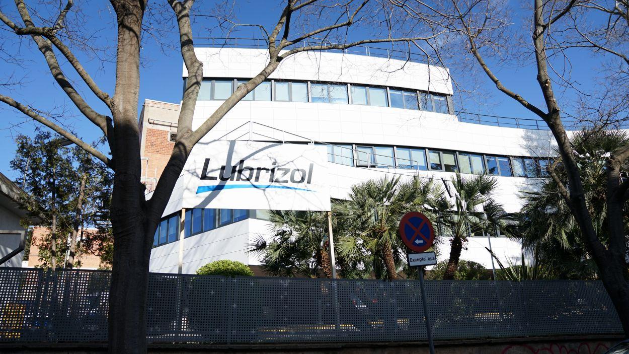 La seu de Lubrizol a Sant Cugat / Foto: Cugat Mèdia (Guillem Babitsch)