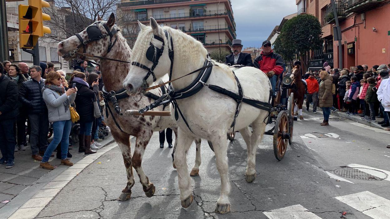 La cercavila ha recorregut el centre de Sant Cugat / Foto: Cugat Mèdia