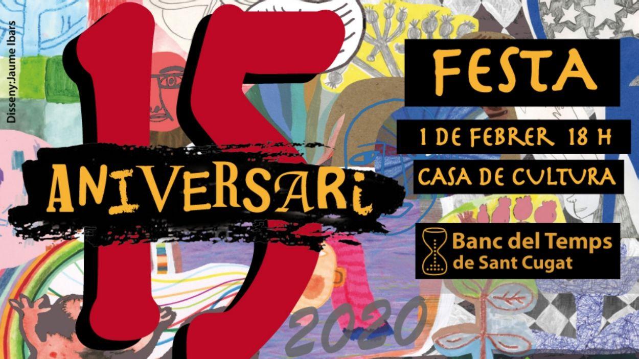 Festa del 15è aniversari del Banc del Temps de Sant Cugat
