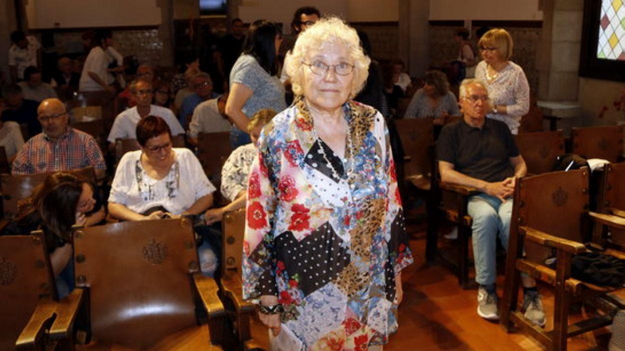 Isabel-Clara Simó ens va deixar aquest mes de gener / Foto: ACN